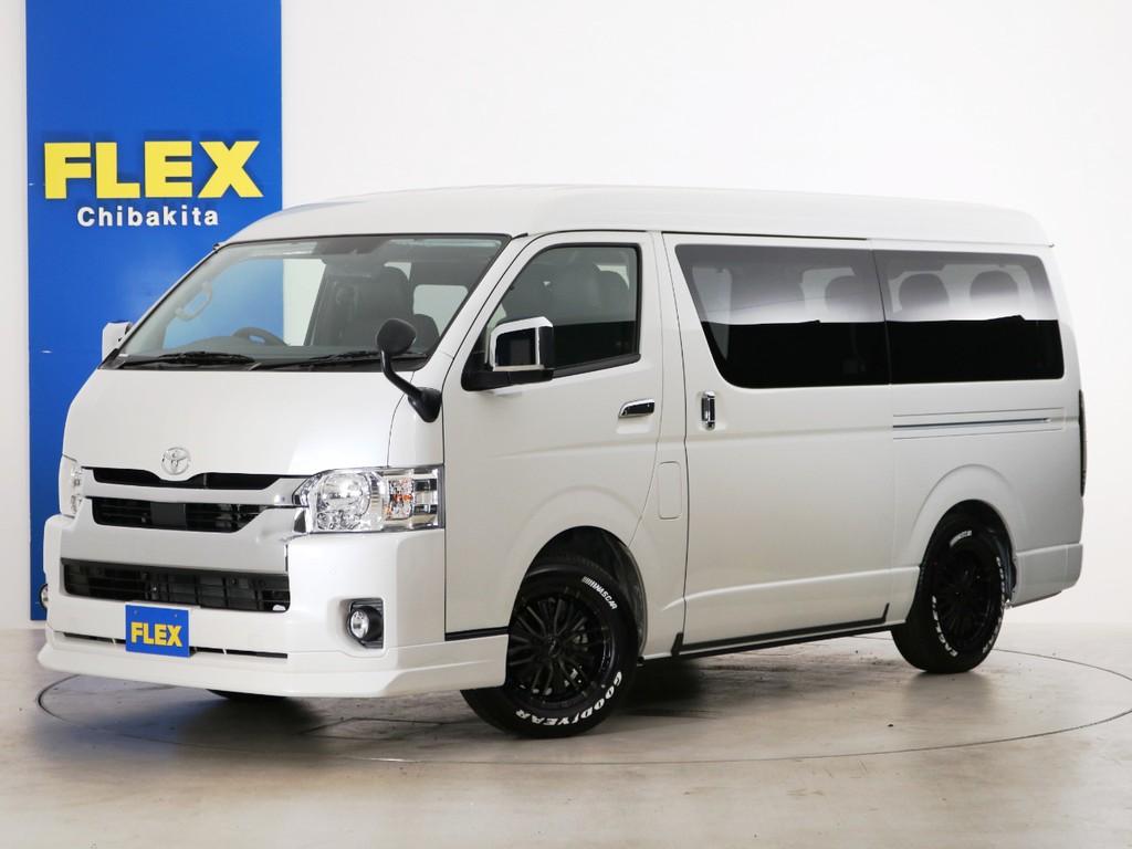 新車未登録 ハイエースワゴンGL 一部改良後【新型】 ガソリン4WD FLEXオリジナル内装アレンジ【Ver1】!