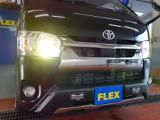 新車ハイエースVダークプライムⅡ2800ディーゼル4WDナビベットKITパッケージ完成致しました!!