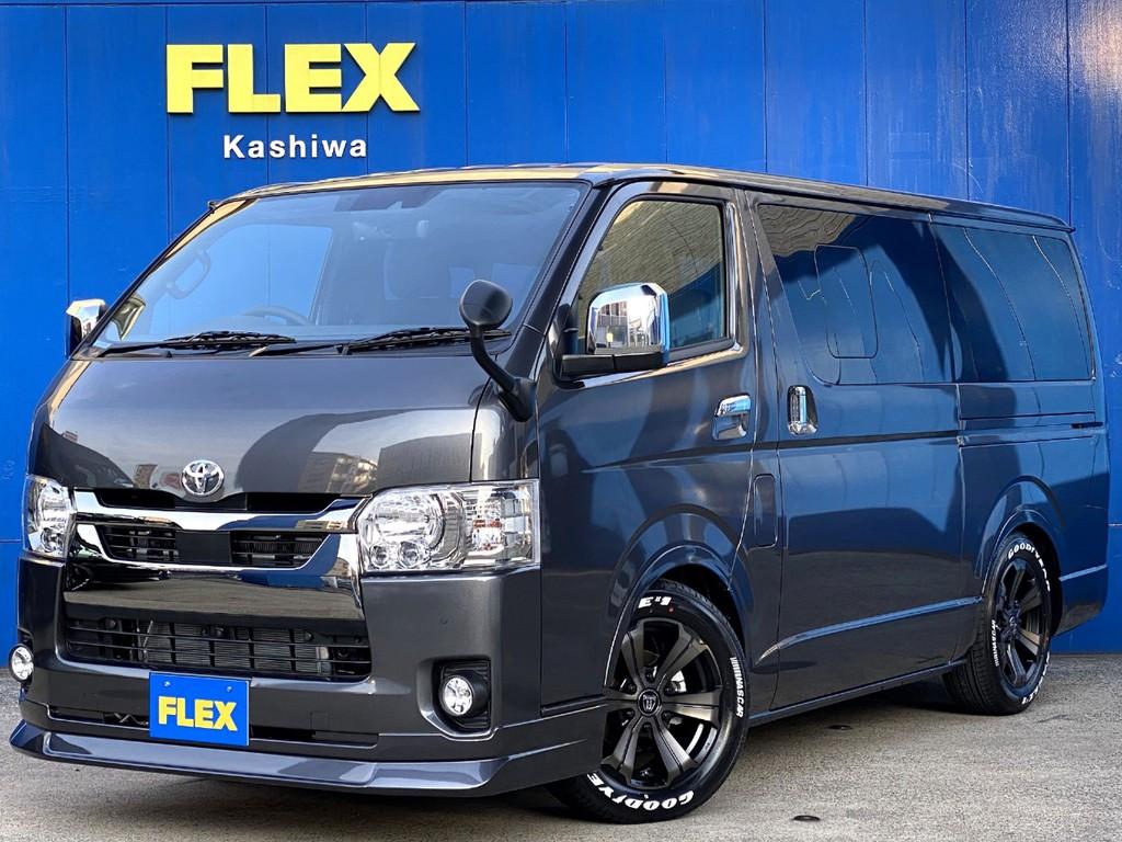 新車ハイエース スーパーGL ダークプライムⅡ FLEXフルカスタムが入庫しました!!