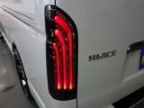 新車ハイエースVダークプライムⅡ2000ガソリン2WDナビパッケージ完成致しました!!即納車もご対応も可能になります!!