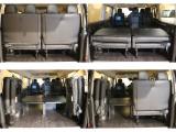【もちろん荷物も積めます】4列目シートは跳ね上げでレイアウトの変更が可能!