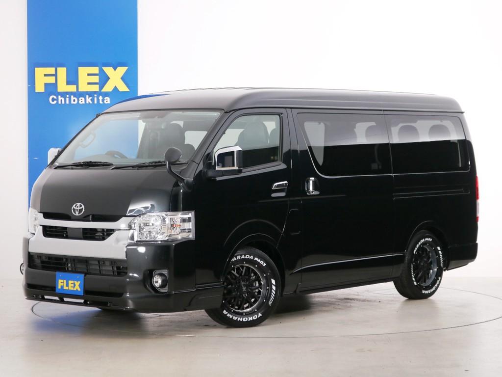 新車未登録 ハイエースワゴンGL 一部改良後 ガソリン4WD FLEXオリジナル内装アレンジ【Ver1】!
