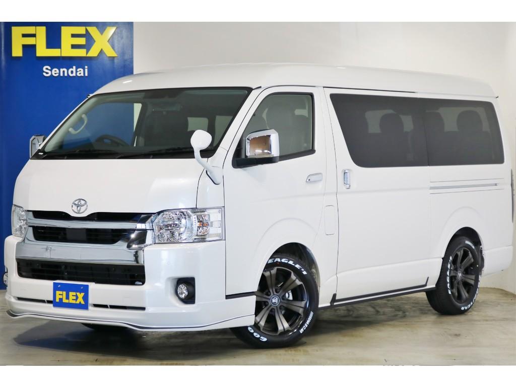 ★新型 ハイエースワゴンGL 4WD パールホワイト!