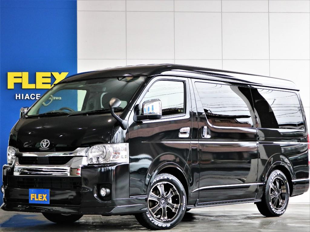 新車 大人気 4WD ワゴンGL バージョン1内装架装 ベッドキットやフローリングで大人気の内装架装車両です♪雪道も安心の4WD!