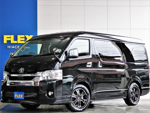 新車 大人気 4WD ワゴンGL バージョン1内装架装 ベッドキットやフローリングで大人気の内装架装車両です♪雪道も安心の4WD!!