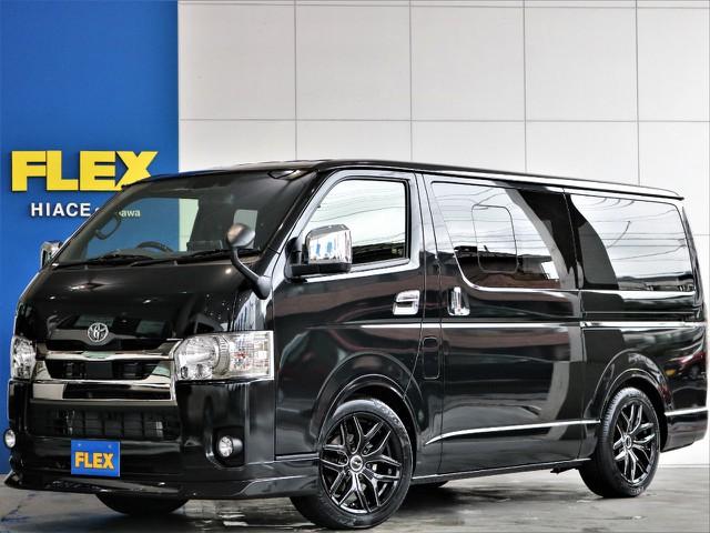 【新型/新車】ハイエースS-GL ダークプライムⅡ ディーゼルターボ2WD 力強い走りが魅力のディーゼル 人気のブラックスタイル♪即納車可能