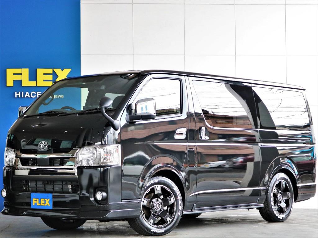 新車 ハイエース SーGLダークプライムⅡ ディーゼルターボ4WD パノラミックビューモニターやデジタルインナーミラーが装備された新型車両♪