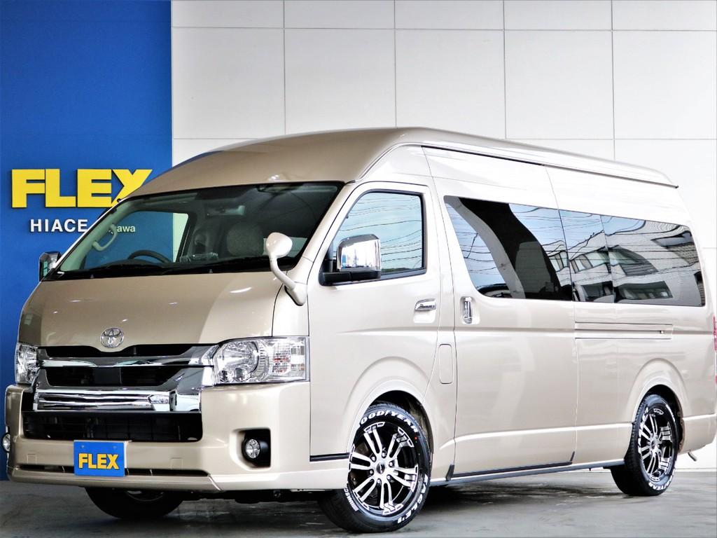 新車 【FLEXキャンピング SH-TYPE2】 オリジナルのキャンピングカー登場です☆ ワンちゃんとの車中泊も◎当店売れ筋キャンピングです