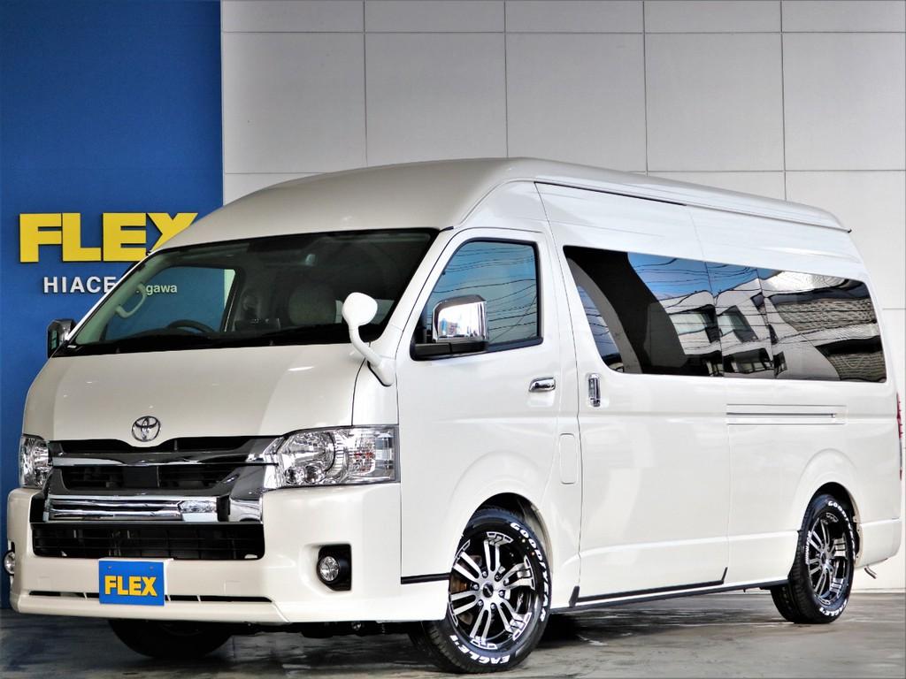 新車 FLEXオリジナル SH-TYPEⅡ 車中泊やワンちゃんと一緒にドライブなど使い勝手抜群の大人気キャンピング♪♪即納車可能ですよ☆