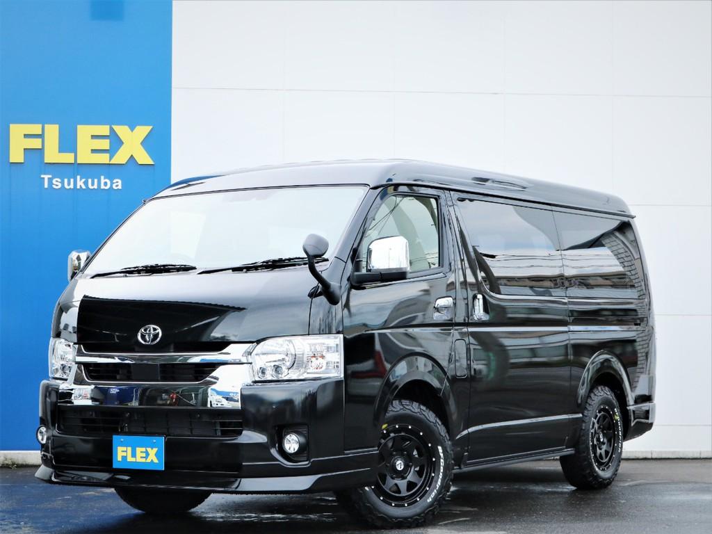 新車ハイエースW「GL」10人乗り4WDガソリン車!内装ファインテックツアラーが入庫!