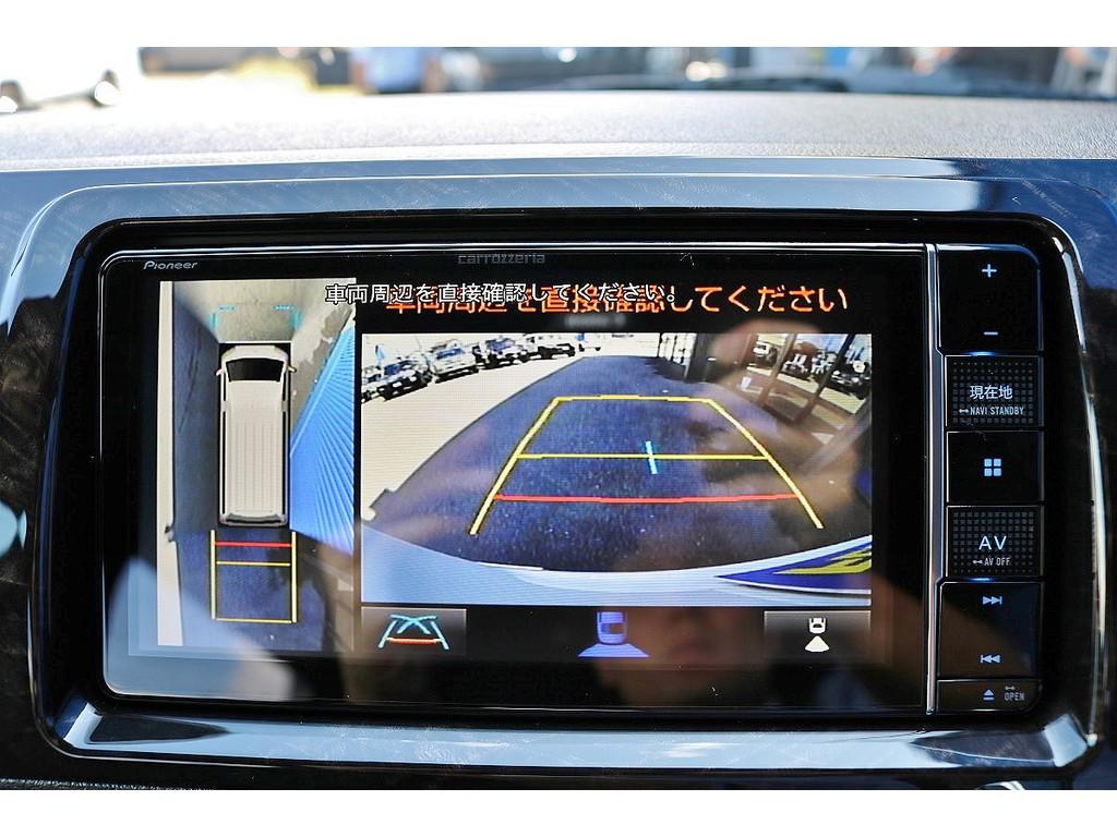 パノラミックビュー連動加工もされておりますので安心して駐車可能です!