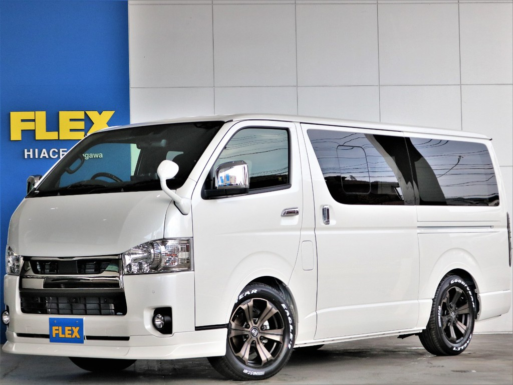 新車 S-GL ダークプライムⅡ ガソリン2WD 街乗りしやすい人気のガソリン車 ベッドキット付き 10インチナビ ETC2.0完備