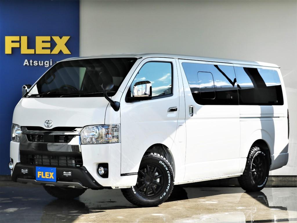 新型ハイエースバン ガソリン2WD!オフロードパッケージ!