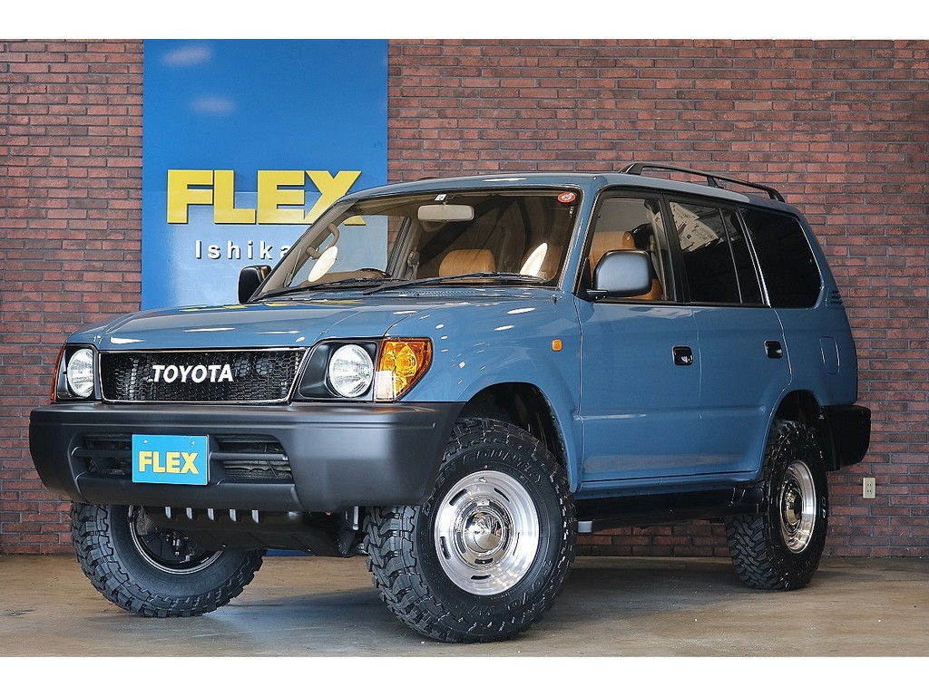 【H14年式 95プラド 2.7ガソリンモデル 4WD】お気軽にフレックスランクルハイエース石川店076-274-6002までお問い合わせ下さい☆