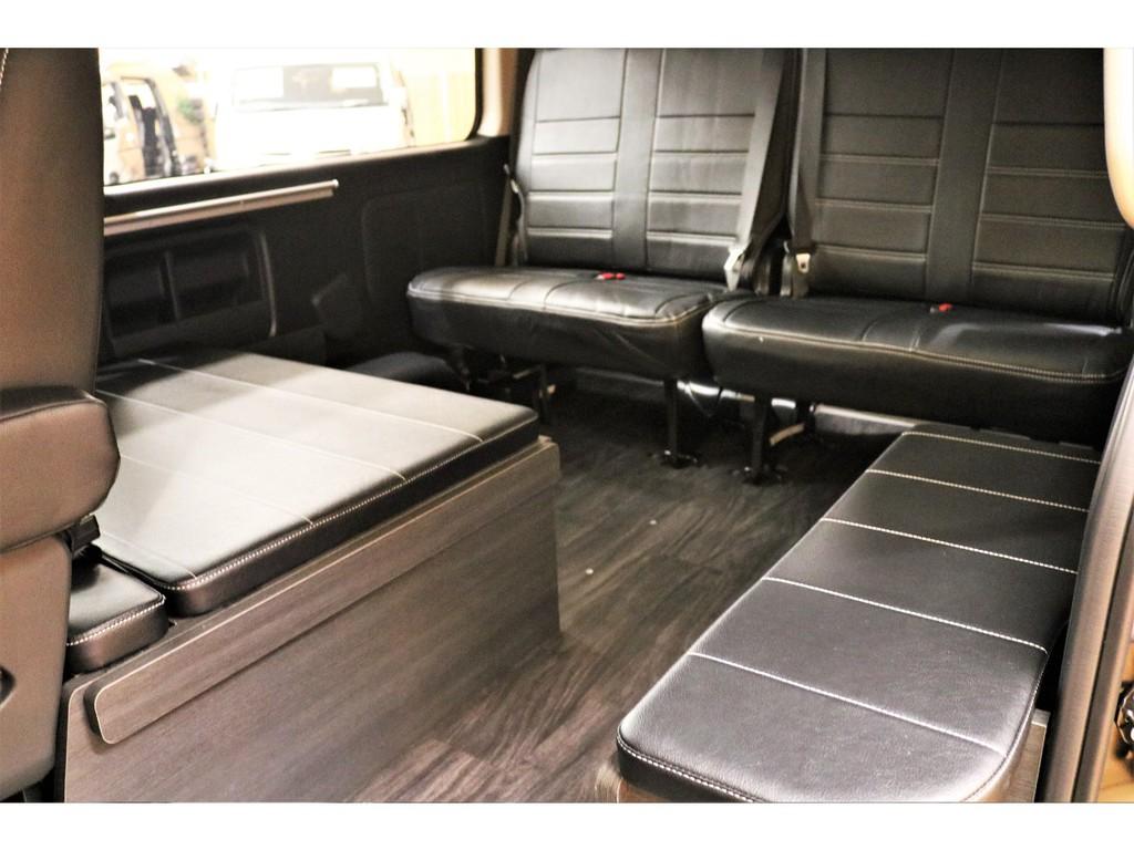 トヨタハイエースワゴン2.7GLロング ミドルルーフ 4WDFLEXオリジナル内装架装Ver1富山県の詳細画像その11