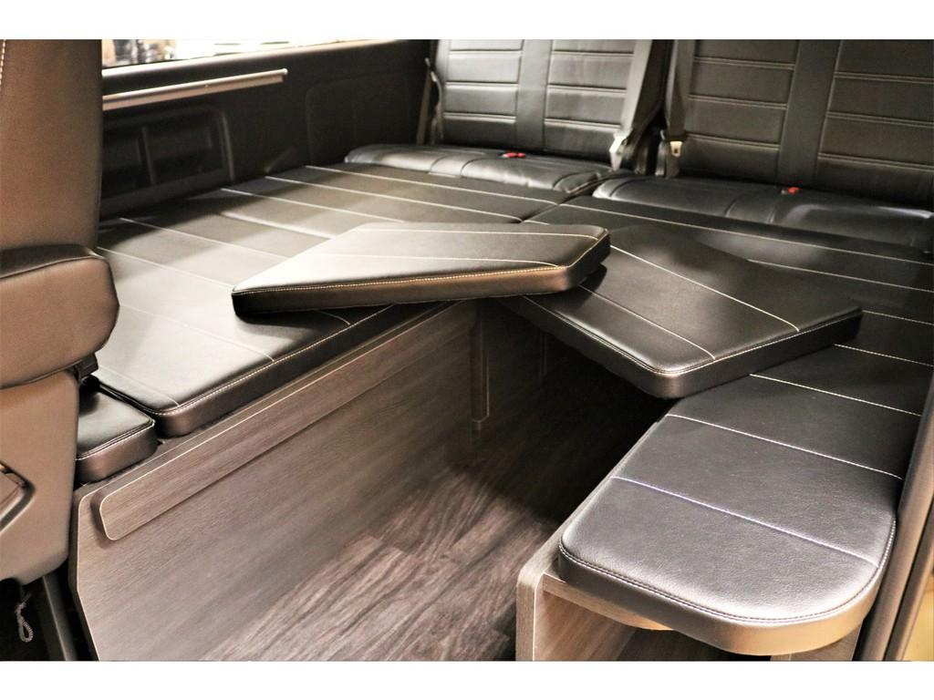 トヨタハイエースワゴン2.7GLロング ミドルルーフ 4WDFLEXオリジナル内装架装Ver1富山県の詳細画像その10