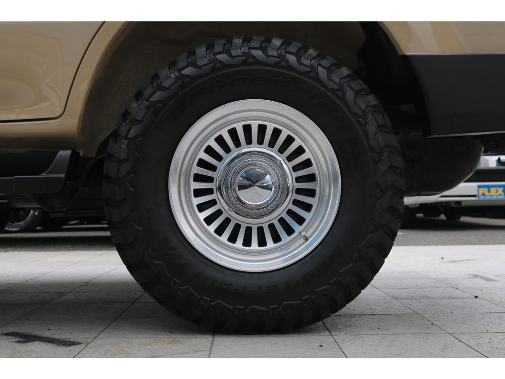新品DEANカリフォルニア16インチAW&BF235MTタイヤ!