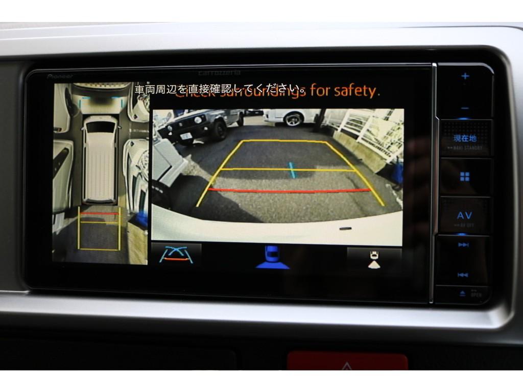PVM連動加工済みで、駐車の際も楽々です!