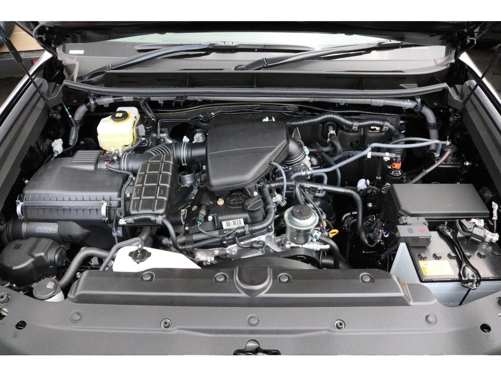 2700cc2TRエンジン!レスポンスの良さと耐久性に定評がありますね!