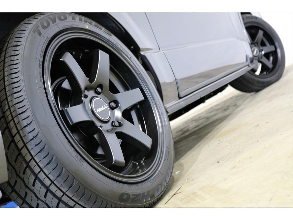 T.A.W Styling5 18インチアルミホイール&トーヨーH20タイヤ!