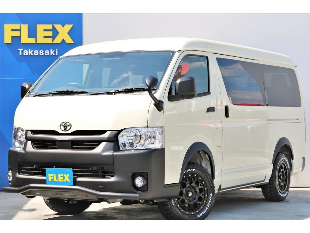新車 ハイエースワゴンGL 4WD ガソリン 内装架装Ver.1.5