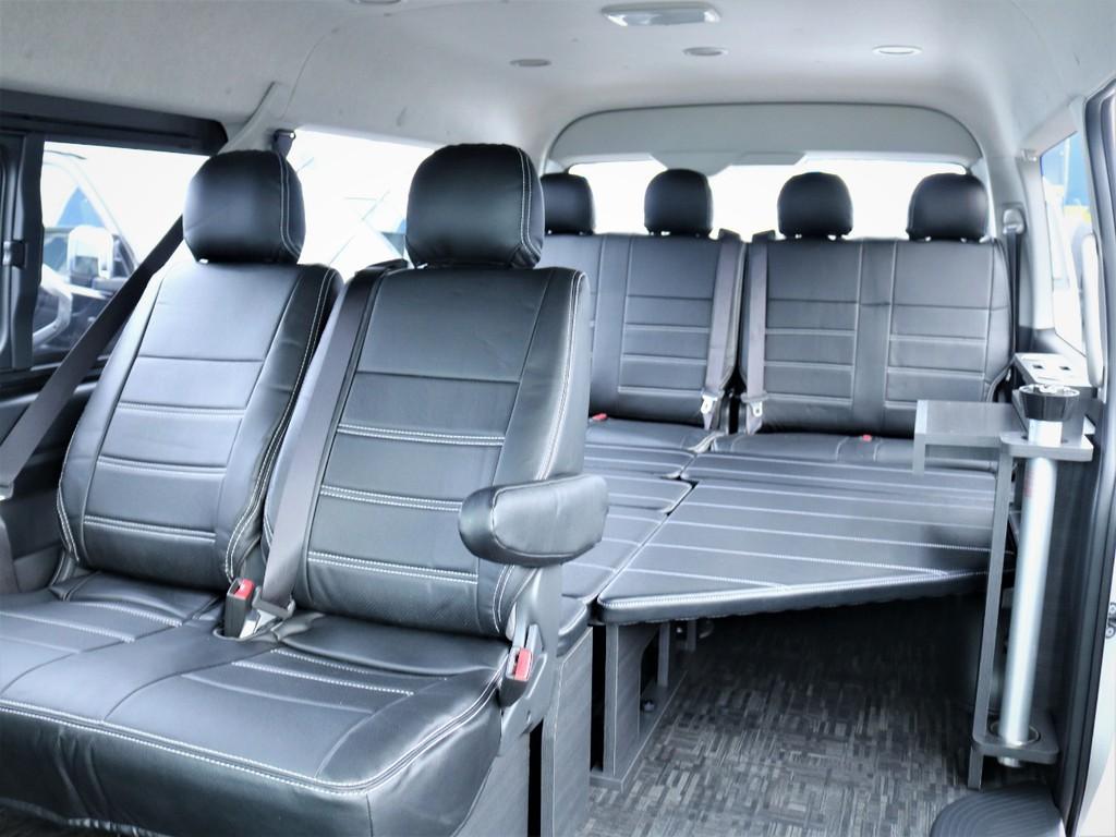 トヨタハイエースワゴン2.7GLロング ミドルルーフ【内装架装VER1.5】茨城県の詳細画像その3