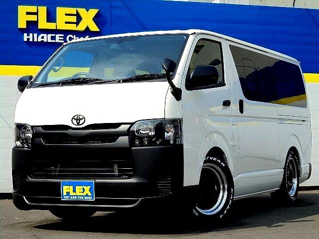 新車DXスポーツパッケージホワイト×マッドブラックで統一した拘りのカスタム!WORK17AW、ESSEX