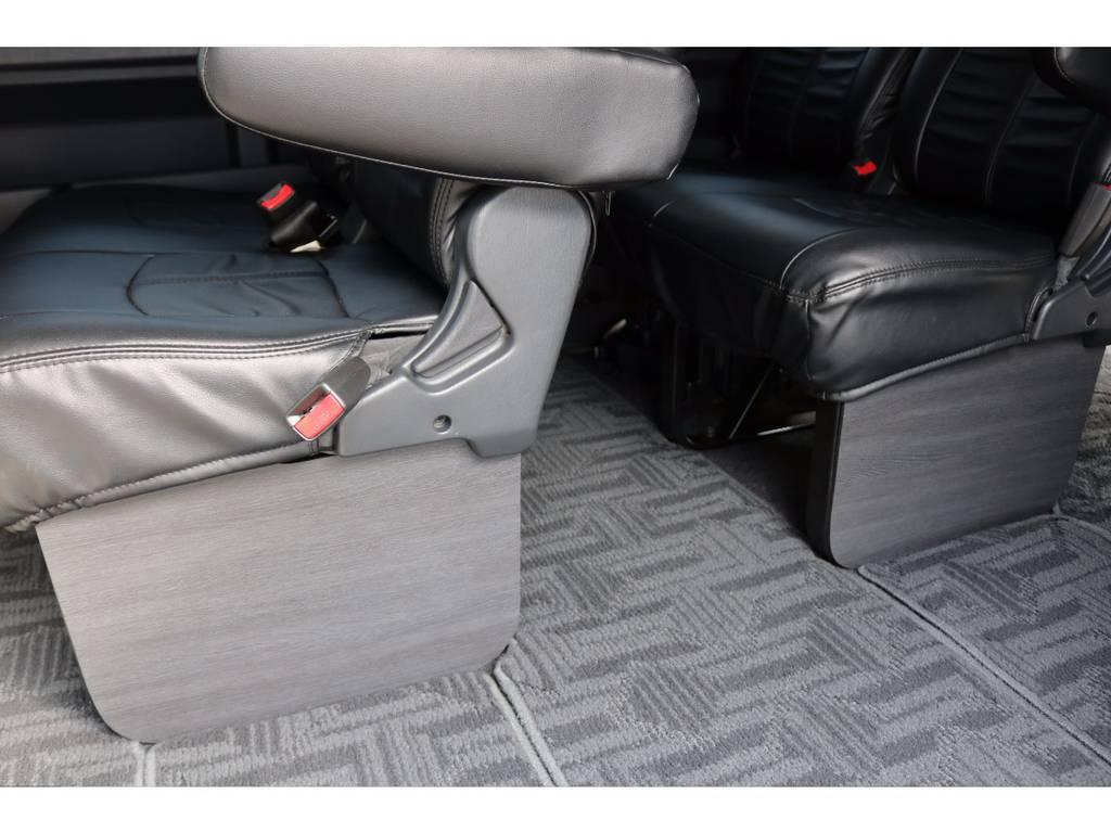 新品FLEXフットパネル付き! | トヨタ ハイエース 2.7 GL ロング ミドルルーフ MC-9