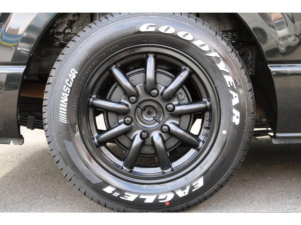 新品MC-9 16インチアルミ!GOODYEARタイヤ! | トヨタ ハイエース 2.7 GL ロング ミドルルーフ MC-9