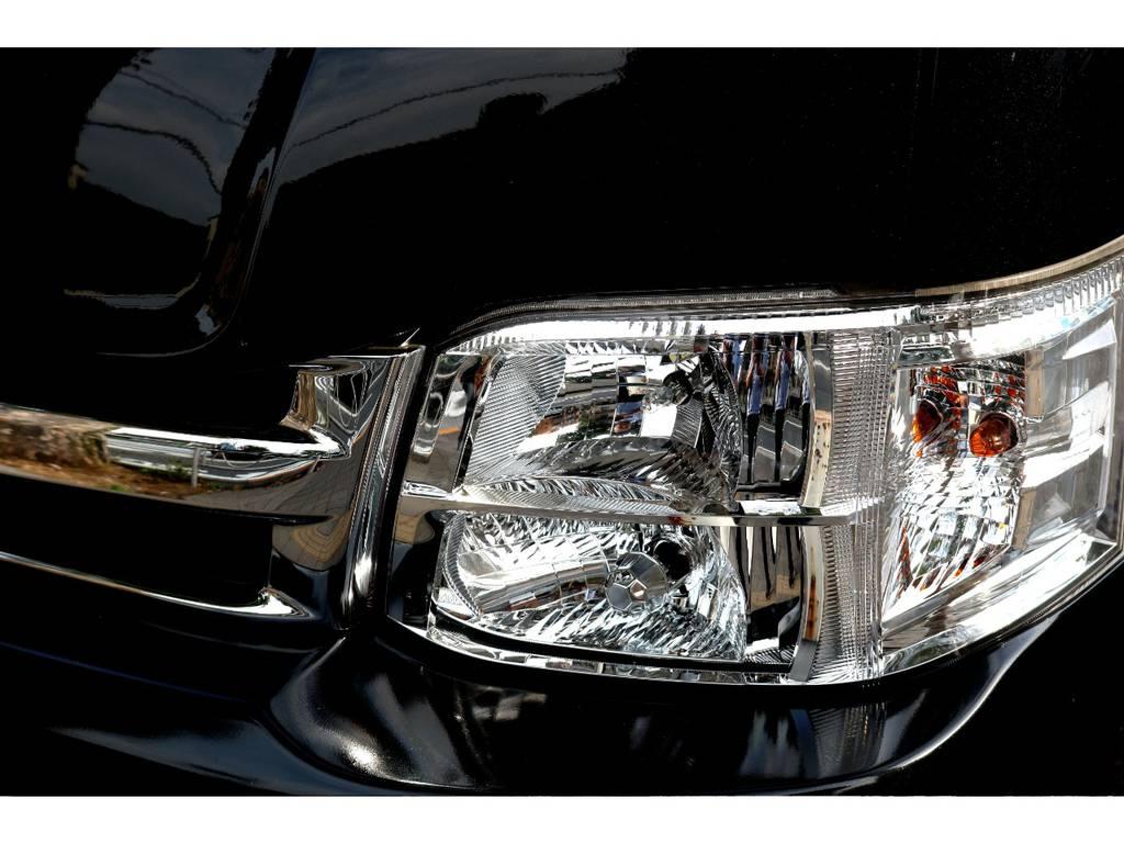 新車時オプションディスチャージヘッドライト! | トヨタ ハイエース 2.7 GL ロング ミドルルーフ MC-9