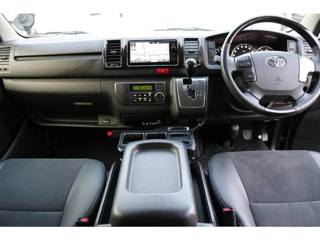 室内もクリーニング済みです! | トヨタ レジアスエース 2.0 スーパーGL ダークプライム ロングボディ