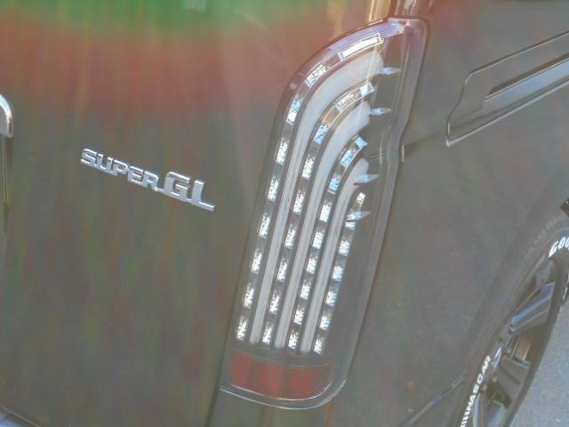 FLEX煌LEDテール! | トヨタ レジアスエース 2.0 スーパーGL ダークプライム ロングボディ