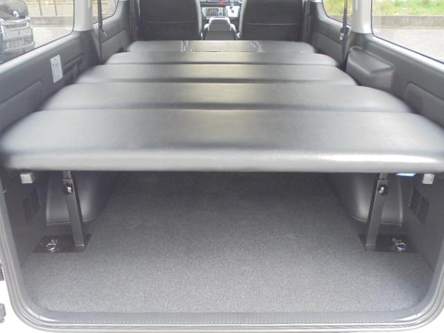 FLEXオリジナルベットKIT!(上下5段階調整式) | トヨタ レジアスエース 2.0 スーパーGL ダークプライム ロングボディ