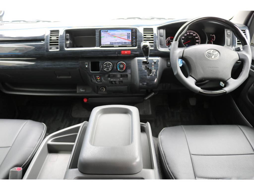 室内も綺麗に保たれております! | トヨタ ハイエースバン 2.7 スーパーGL ワイド ロング ミドルルーフ 4WD