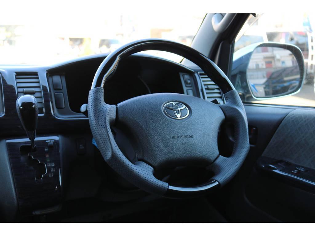 新品コンビハンドル&シフトノブ! | トヨタ ハイエースバン 2.7 スーパーGL ワイド ロング ミドルルーフ 4WD