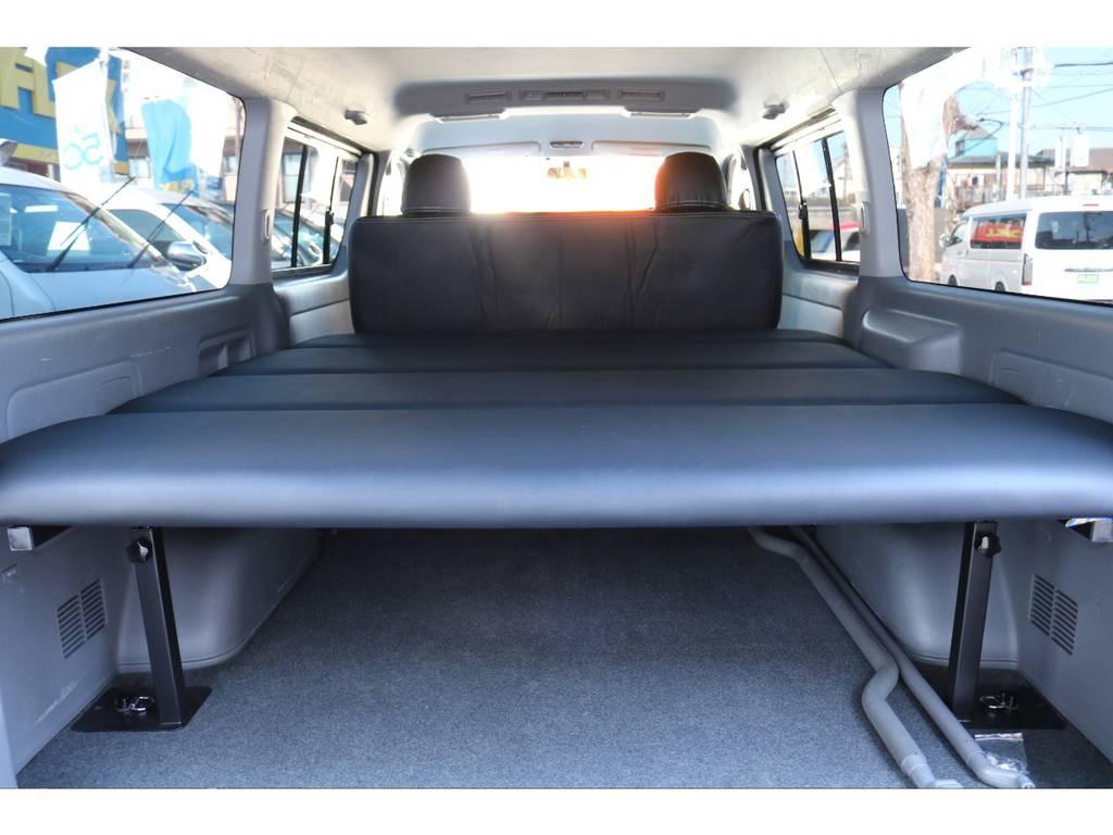 新品FLEXベットKIT(上下5段階調整式) | トヨタ ハイエースバン 2.7 スーパーGL ワイド ロング ミドルルーフ 4WD