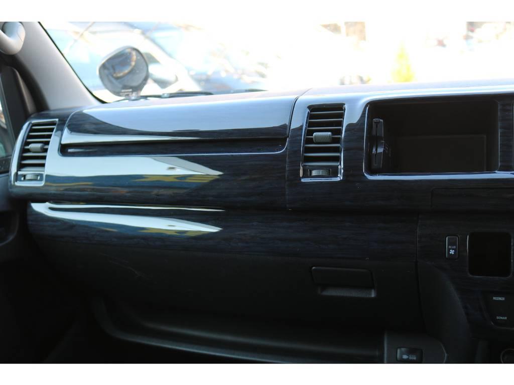 新品インテリアパネル装着! | トヨタ ハイエースバン 2.7 スーパーGL ワイド ロング ミドルルーフ 4WD
