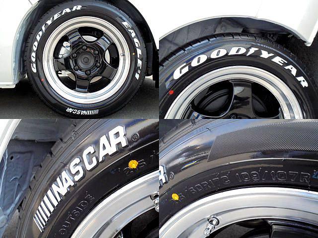 WORK17インチアルミ!GOODYEARタイヤ! | トヨタ ハイエースバン 2.0 DX ロング スポーツPK@