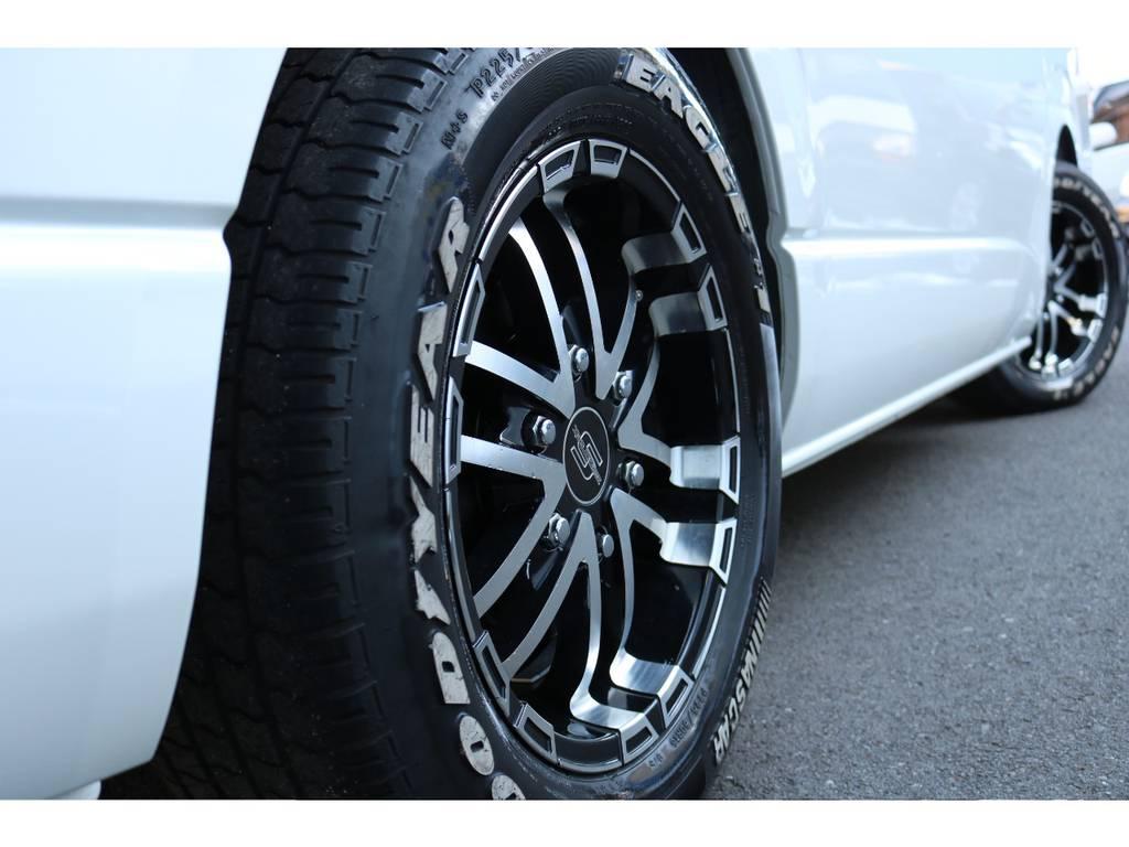 ゼロブレイクS 16インチアルミ! | トヨタ ハイエース 2.7 GL ロング ミドルルーフ COBRAボンネット後期
