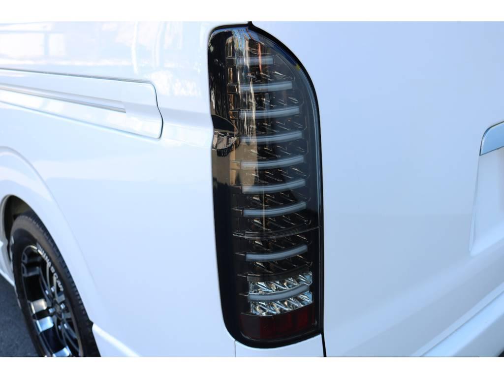 ヴァレンティーLEDテール! | トヨタ ハイエース 2.7 GL ロング ミドルルーフ COBRAボンネット後期