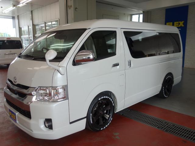 トヨタセフティーセンス付ハイエースになります!!