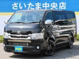 【新型特別仕様車ダークプライム2800ディーゼル車ナビPK】新車ハイエースV!