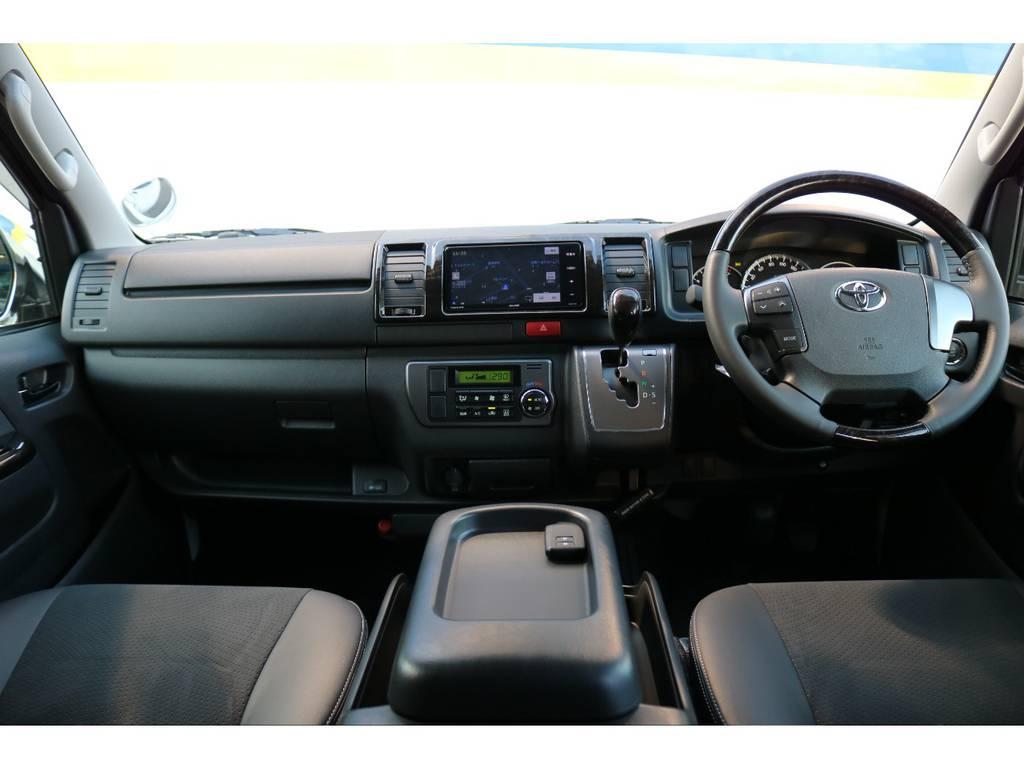 特別仕様車ダークプライム!専用インテリア! | トヨタ ハイエースバン 2.0 スーパーGL ダークプライム ロングボディ