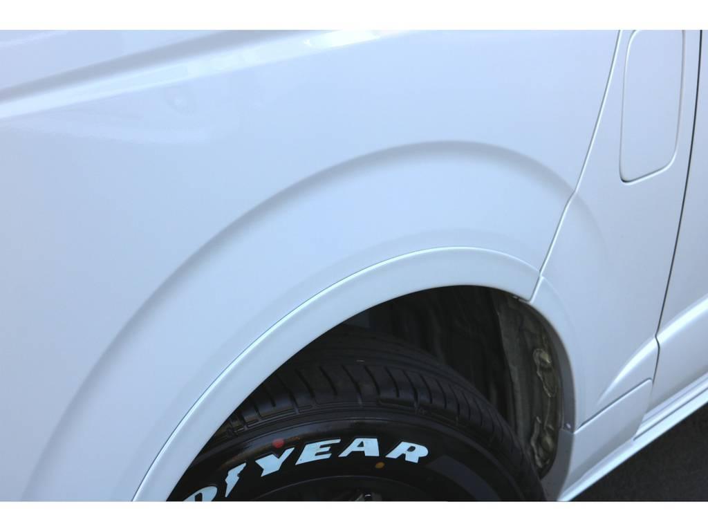 ESSEXリーガルフェンダー! | トヨタ ハイエースバン 2.0 スーパーGL ダークプライム ロングボディ