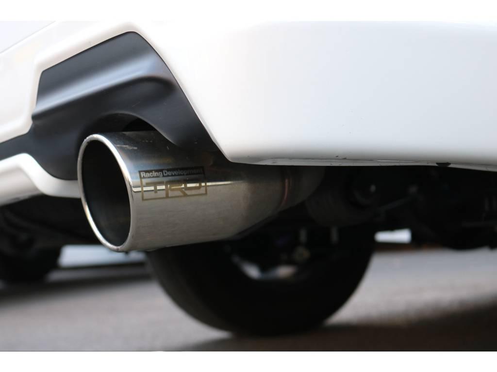 TRDマフラー! | トヨタ ハイエースバン 2.0 スーパーGL ダークプライム ロングボディ
