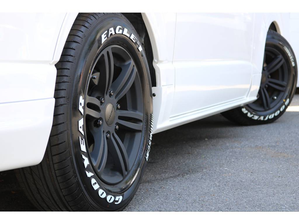 COBRA16インチアルミ!GOODYEARタイヤ! | トヨタ ハイエースバン 2.0 スーパーGL ダークプライム ロングボディ