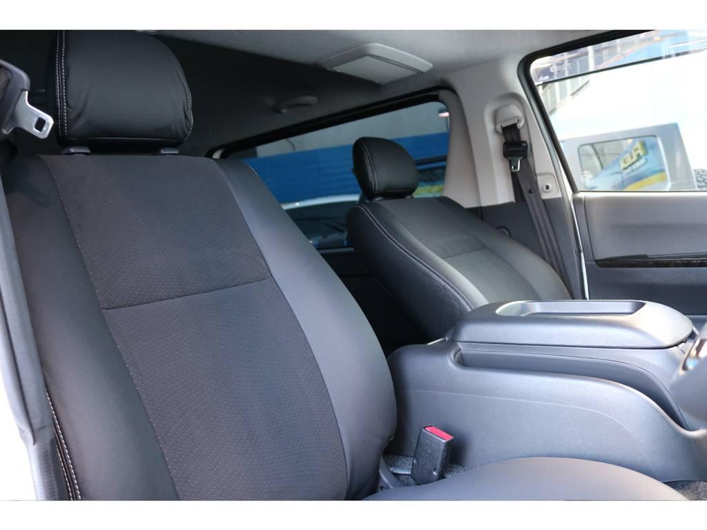 特別仕様車ダークプライム!ハーフレザーシート! | トヨタ ハイエースバン 2.0 スーパーGL ダークプライム ロングボディ