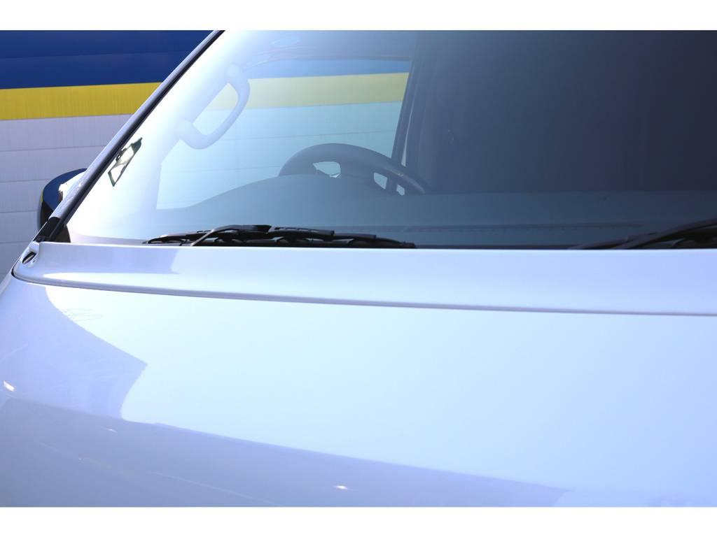 TRDワイパーガード! | トヨタ ハイエースバン 2.0 スーパーGL ダークプライム ロングボディ