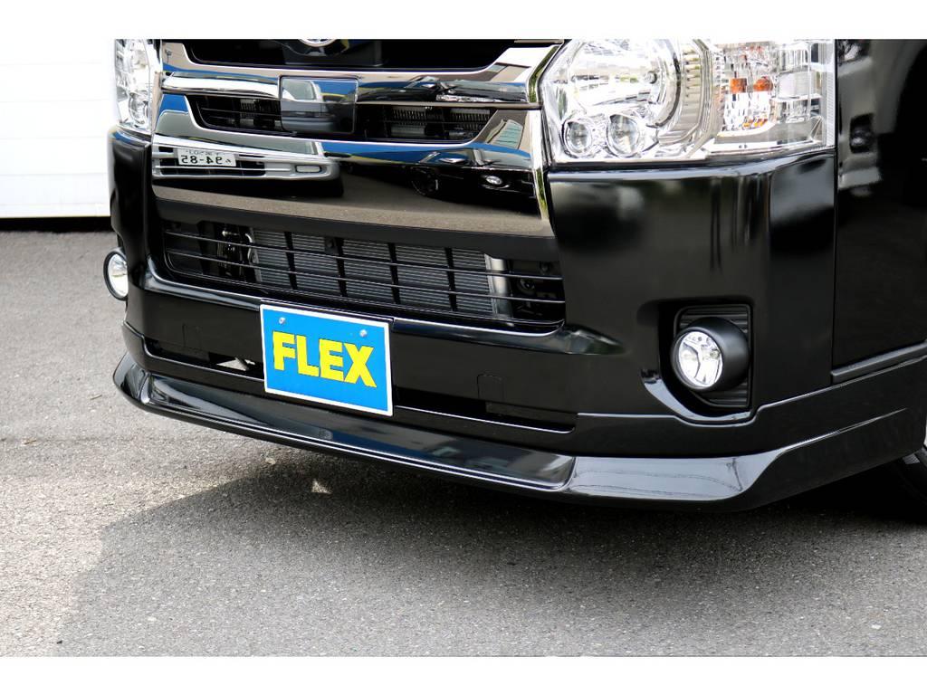 FLEX DelfinoLineスポイラー!