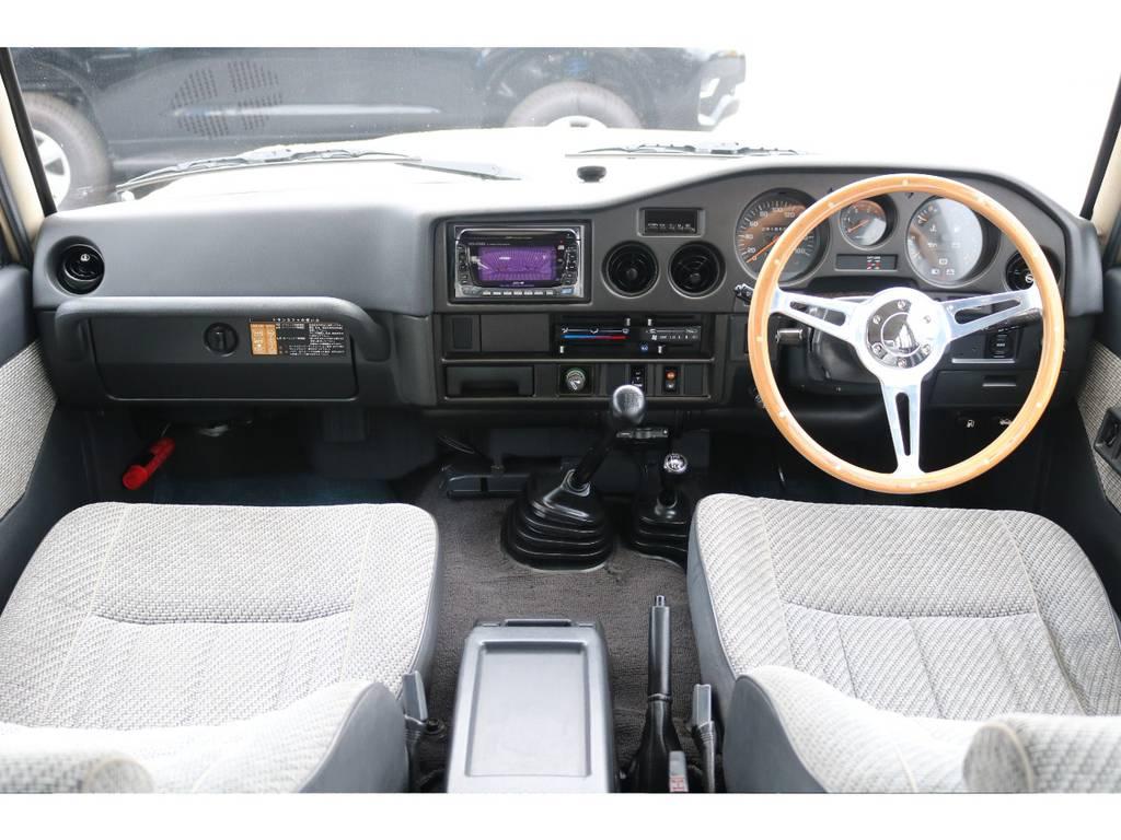 ダッシュボードに目立った割れや日焼けも見受けられず、内装の状態もグッドコンディションです! | トヨタ ランドクルーザー60 4.0 GX 4WD ガソリン車 集中ドアロック